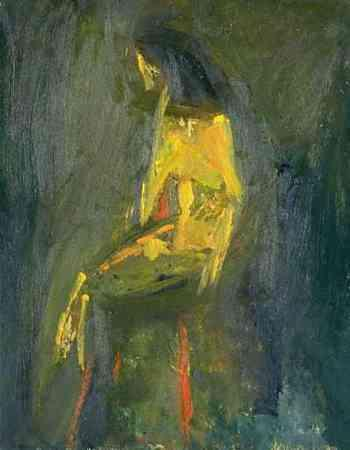 Yellow Seated Figure 1947
